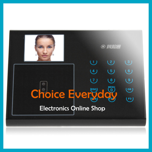 "2.8"" TFT LCD Screen Facial Employee Attendance Machine Multifunctional Time Recording With 15-keys Keyboard Module(China (Mainland))"