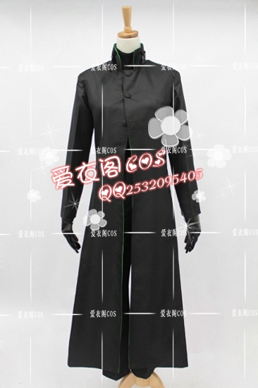 New Arrival Anime Darker than BLACK Hei Cosplay Costume Customized