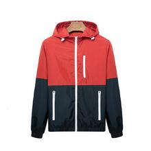 2015 Autumn new men's sports jacket Outdoor sportswear Men Fashion Thin Windbreaker jacket Zipper Coats Outwear men's clothing(China (Mainland))