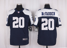 Men's free shiping A+++ quality Dallas Cowboys #20 Darren McFadden Limited Navy Blue Throwback Alternate(China (Mainland))