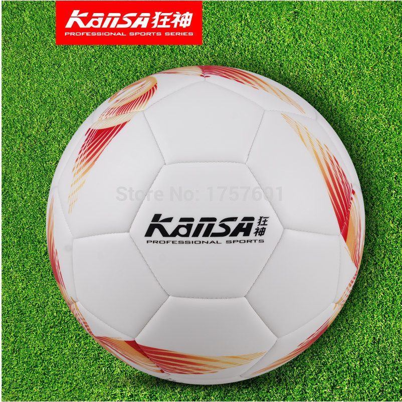 Free shipping High Quality Machine sewing TPU slip-resistant soccer ball size 5 Football for match wholesale and retail(China (Mainland))