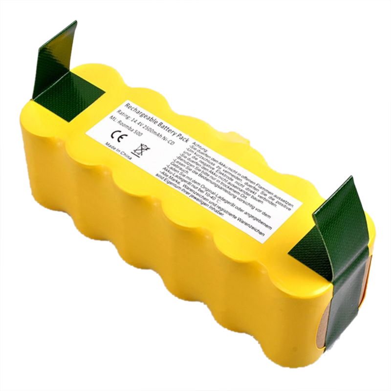 Фотография New Hot 2x EXTENDED APS Battery For i Robot Room ba 500 510 530 535 550 Series
