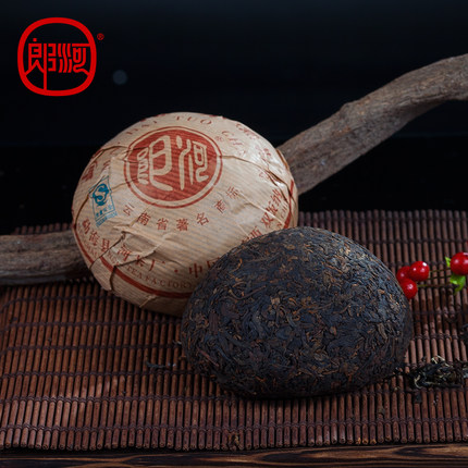 Lang He Menghai Yunnan Puer Tea aged 8 year old tea tea tea special 100 grams in 2006<br><br>Aliexpress