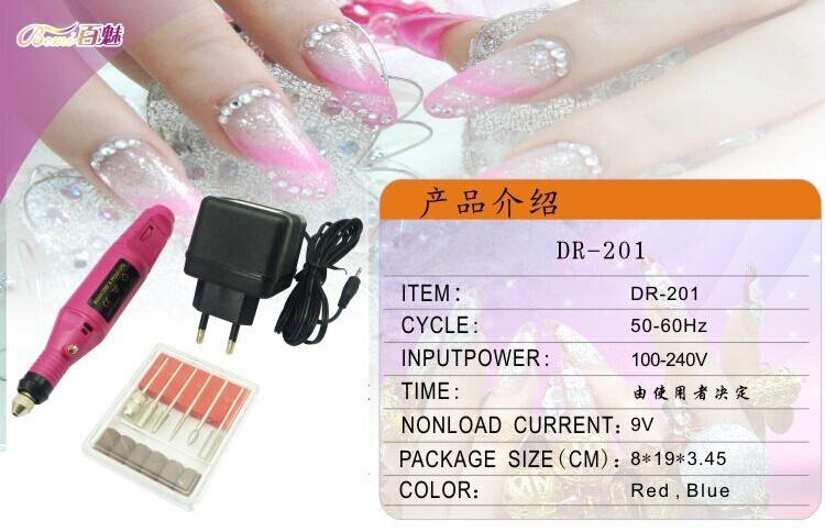 2015 Hot-Selling Nail Polish Machine Portable And Practical Mini Pen 10W 10000 Electric Switch 100-240V 0.35KG 2 Colors(China (Mainland))