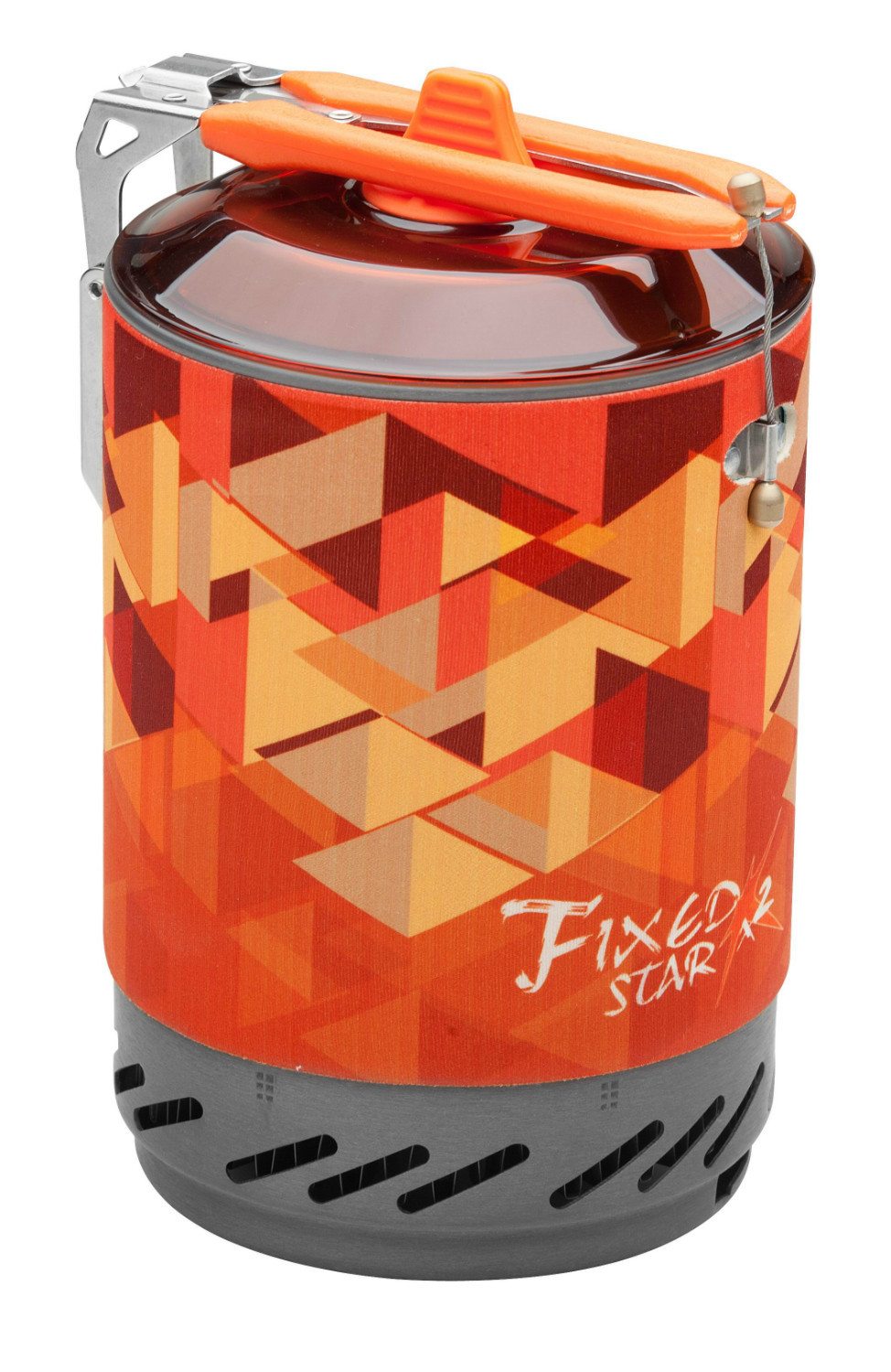 Upgraded Fire Maple One-Piece Camping Stove Heat Exchanger Pot Cooking Stove & Pot Fixed Star X2(China (Mainland))