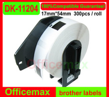 24x  Rolls Brother Compatible Labels DK 11204(brother DK-1204)