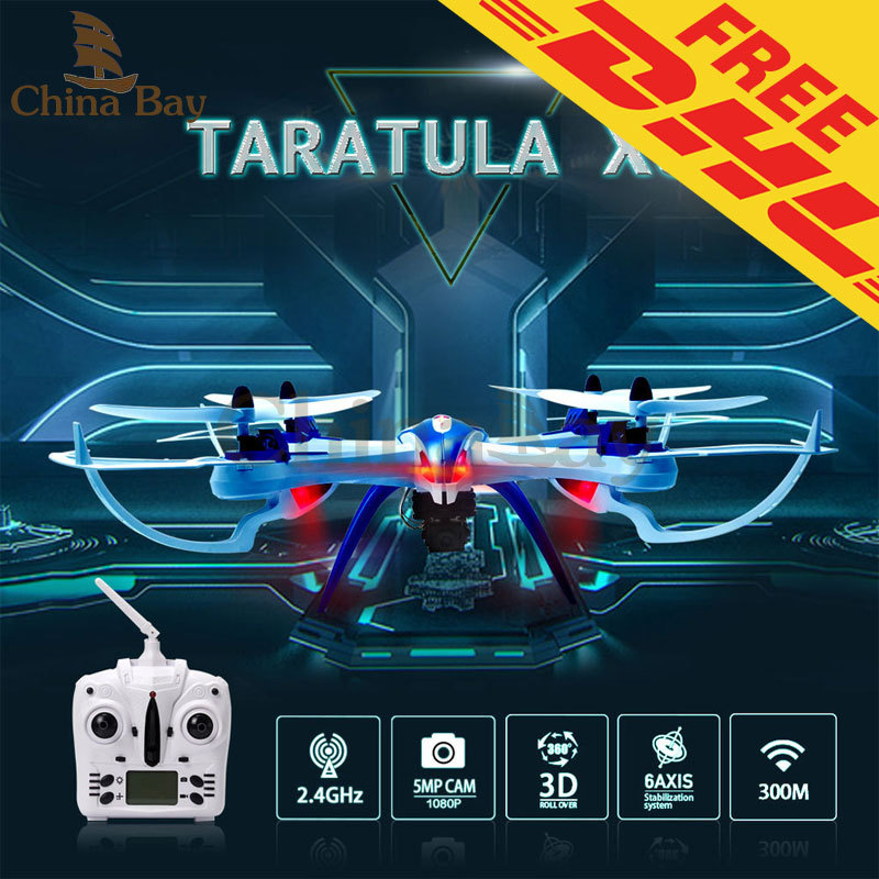 5MP Camera Drone JJRC H16 YiZhan Tarantula X6 RC Quadcopter 6-Axis 2.4GHz Helicopter with  Professional Camera DHL Ship(China (Mainland))