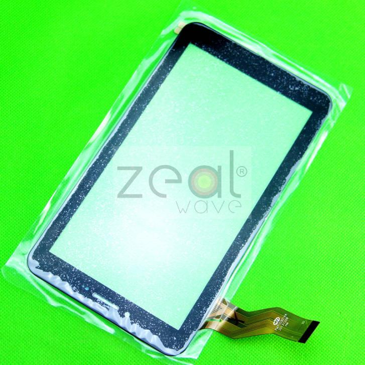10pcs Black Color Replacement 7 Touch Screen Digitizer Glass For CTD FM710301KA NJG070099JEG0B-V0 30pin Touch Panel<br><br>Aliexpress