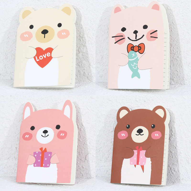Гаджет  1 Pics A6 Mini Cute Notebook Korean Stationery School Supplies Diary Journal Note Book None Офисные и Школьные принадлежности