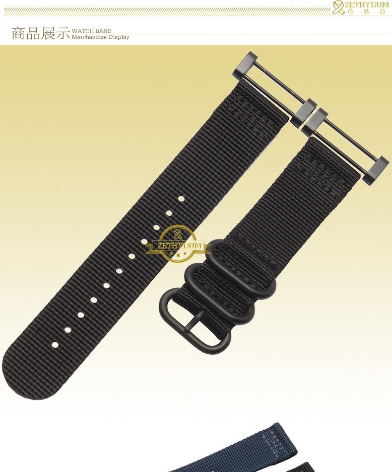 ถูก สมาร์ทไนล่อนนาฬิกาวงสายนาฬิกาข้อมือperlonสายคล้องสายรัดข้อมือสร้อยข้อมือ22มิลลิเมตรแหวนโลหะสำหรับSUUNTO COREนาฬิกาข้อมือเข็มขัดเครื่องมือฟรี