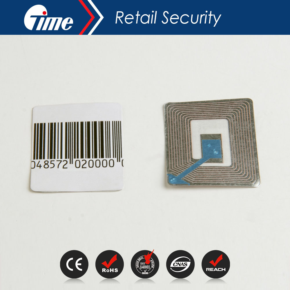 RL4609 EAS 8.2MHz Security Soft RF Paper Roll Labels Tag Checkpoint Compatible(China (Mainland))