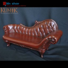 Hot Figure Accessory Retro Furniture 1:6 PVC Sofa Couch Leather Sling Chair ArmChair Model Toys Collection Gift KUMIK AC-4/7