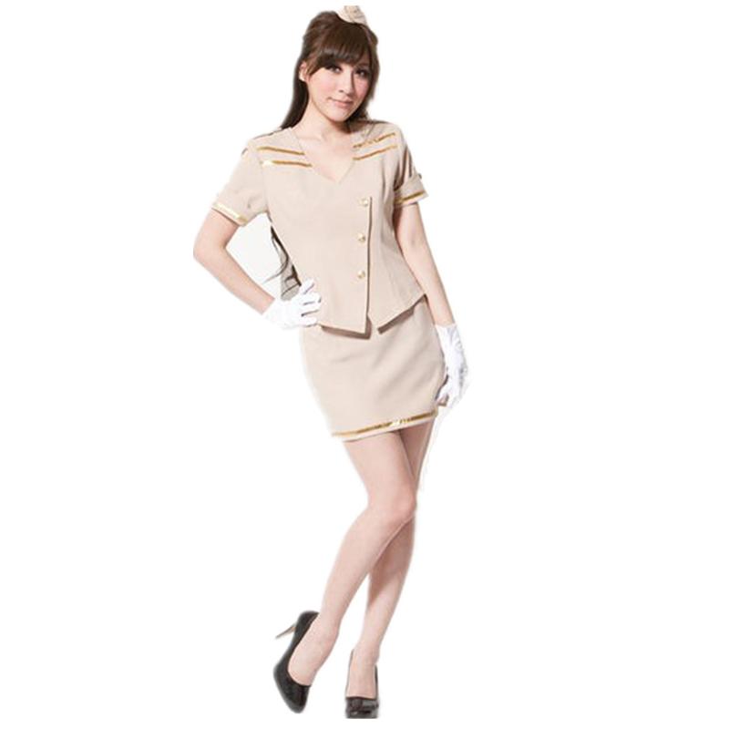 Cosplay pilot costume dress wholesale(China (Mainland))