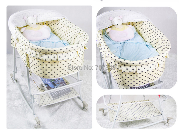 Baby's Folding Bed : New product Infant Folding Bed baby Crib/ Baby Cot Single Baby Bed ...