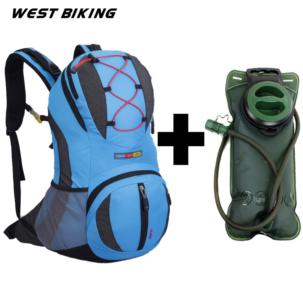 22L Moutain Backpack Bike Rucksacks Packsack Road Cycling Bag Knapsack Travel Running Sport Cycling Backpack+2L Water Bag <br><br>Aliexpress