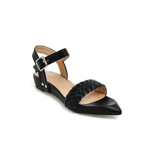 Model Roberto Del Carlo Low Chunky Heel Sandals In Black  Lyst