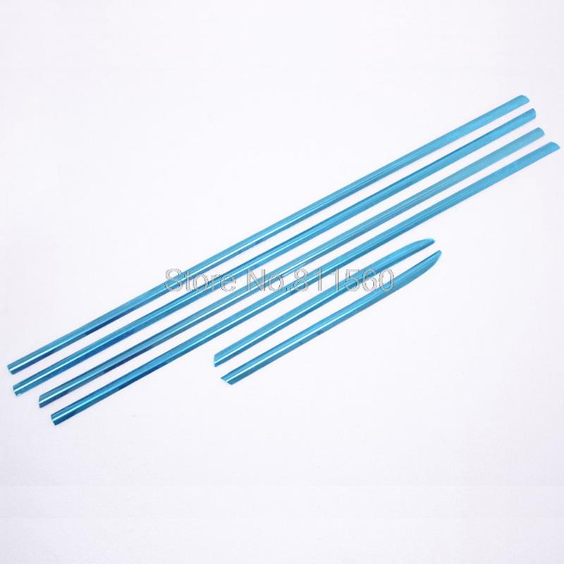 Chrome Window Trim sill For Toyota Prado FJ150 2010 2011 2012 new 5pcs<br><br>Aliexpress