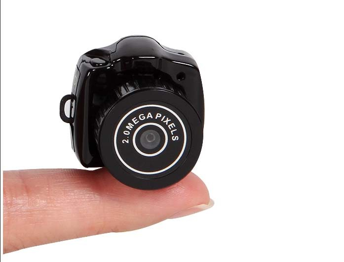 Smallest 720P HD New Smallest Mini Camera Camcorder Video Recorder DVR Spy Hidden Pinhole Web cam(China (Mainland))