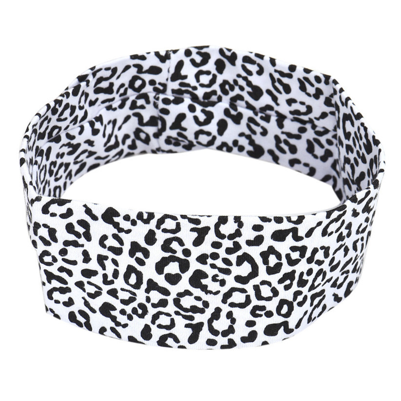 Newly Design Sexy Leopard Headbands Headwrap Sports Yoga Hair Accessories Aug6(China (Mainland))