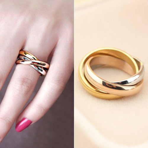 2015 Limited New Wedding Rings Free Shipping, Fashion Brand Jewelry Titanium Neutral Ring Carter The Highest Quality Rings For(China (Mainland))