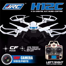 JJRC H12C 6 Axis Headless Mode 2.4G 4CH RC Quadcopter 360 Degree Rollover UFO Helicopter Professional Drone with 2.0MP HD Camera(China (Mainland))