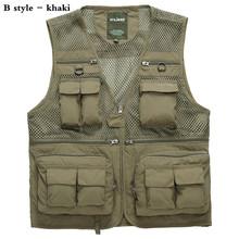 Genuine New Man Good Quality Fashion British Vest Men Outdoors Casual Waistcoat Brand Men's Vest  Sleeveless Jacket(China (Mainland))