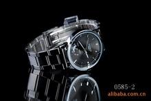 Nary hombre y mujer ocio deportes de cuarzo resistente al agua Rhinestone suizo parejas aleación de lujo de la marca Montre Homme para hombre relojes