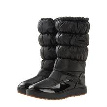 Mundial de La Venta Caliente 10,0000 Pares de Botas de Nieve de Invierno Nuevo 2016 de la Marca A Prueba de agua Zapatos de Mujer, Botas de Plataforma de la Felpa Grande Más El tamaño 41(China (Mainland))