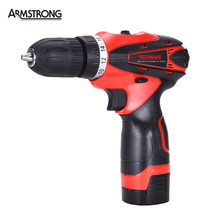 16.8V Electric Drill Cordless Screwdriver Rechargeable Battery Electric Screwdriver Parafusadeira Furadeira  Tenwa Power Tools