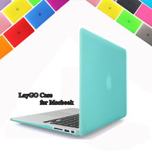 Matte/Crystal clear hard Cover Case For Macbook Air 11 13 Pro 13 15  Retina 12 13 15 inch Laptop bag for Mac Book pro 13 case(China (Mainland))