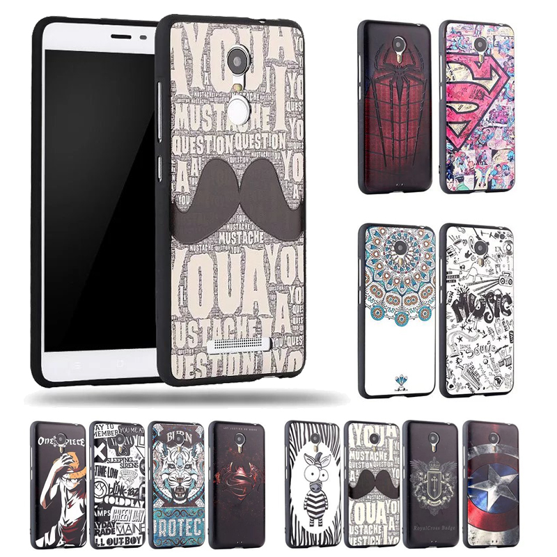 Luxury Ultra-Thin TPU Painted Silicone Phone Bags For Xiaomi Redmi Note 3 pro Relief Patterns Sculpture Soft Plastic Case Cover(China (Mainland))