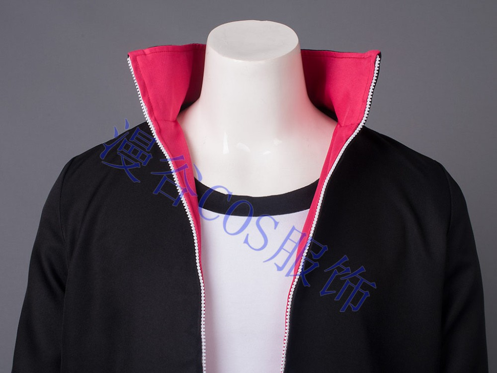 NARUTO Boruto Uzumaki Cosplay Costume Halloween Uniform Coat+T-shirt+Pants+Bags+Shoes+Headband+Weapons  HTB1nrm.JVXXXXbMXFXXq6xXFXXXH