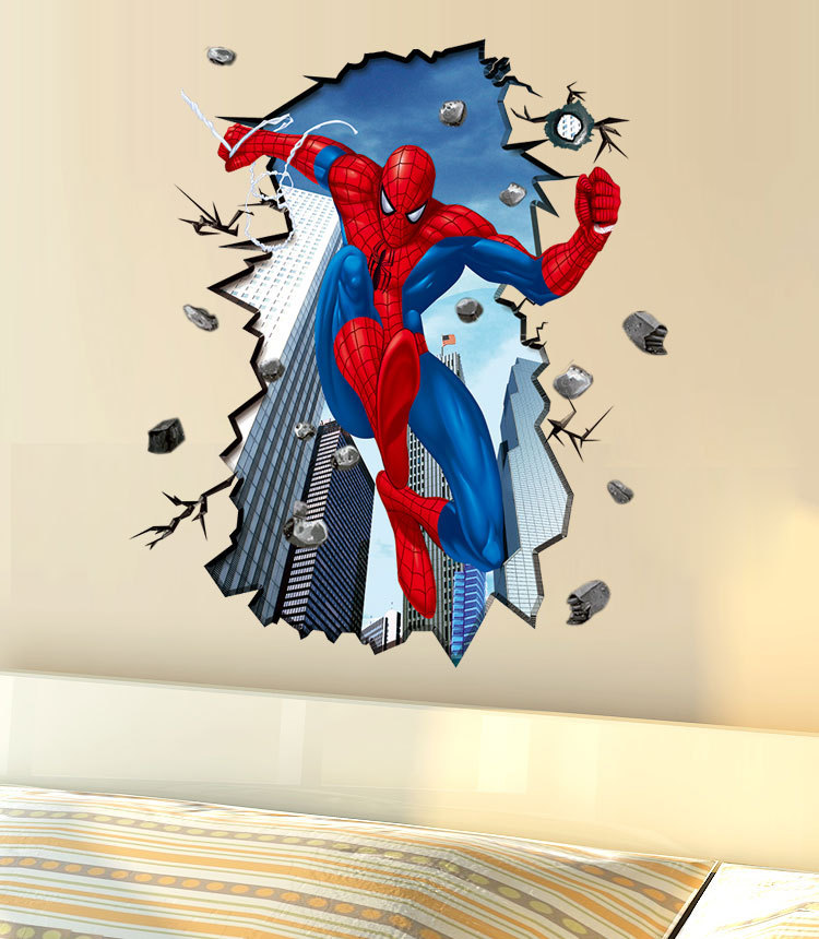 For kids rooms wall decals home decor wallpaper mural for boys room
