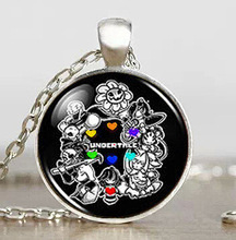 Undertale Game Gamer Gaming Men Handmade Fashion Necklace brass silver Pendant steampunk Jewelry Gift women new chain toy mens(China (Mainland))