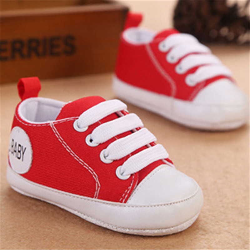 Good Quality IInfant Girls Baby Shoes Soft Sole Toddler Canvas Crib Shoes Baby Girls Boys Shoes Baby 2 Years Girl Kids Shoes(China (Mainland))