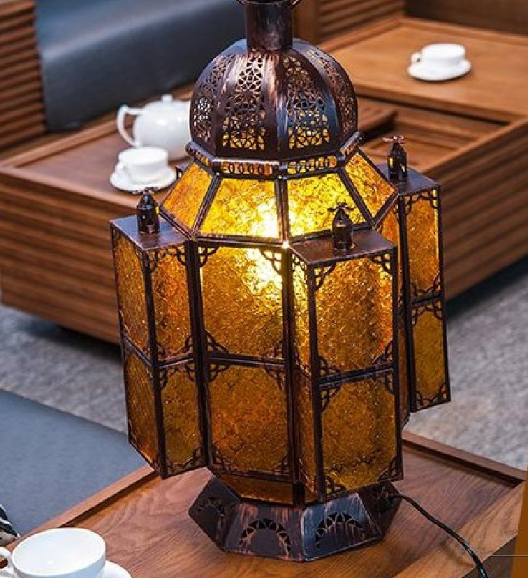 Man Coffee Chandeliers Moroccan Style Lighting Fixtures