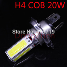 Buy 2015 new 1X H4 20w 4 COB car led light DRL Day Driving Head Light Fog Bulb White Xenon White Car Super Bright Car Styling for $8.31 in AliExpress store