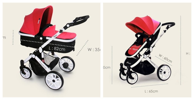 Hot Selling Freekids Toddler Pushchair,Two-way Pushing,Freekids Infants Pushchair,Wholesale and Retail Baby Stroller in Red<br><br>Aliexpress
