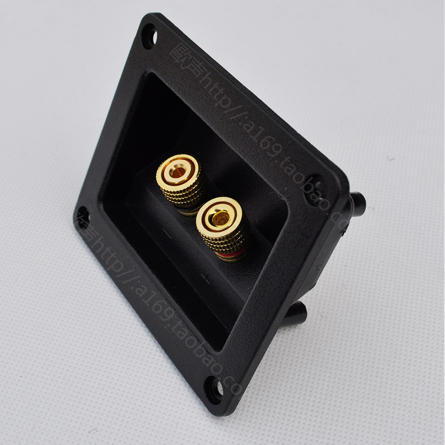 font b Speaker b font quality b junction box copper column audio amplifier diy accessories