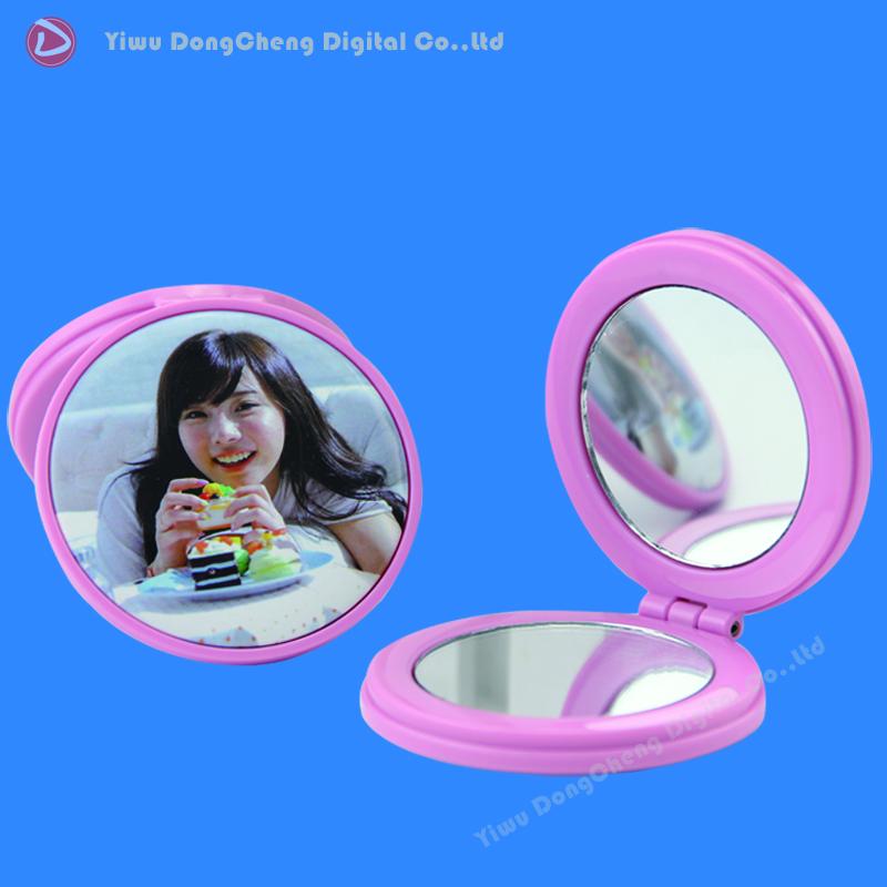 Здесь можно купить  Colorful Double Customization Logo Makeup pocket Mirror 58mm Button Blank Componets  Красота и здоровье
