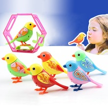 20 Songs Singing Sound Birds Pets Sing Solo intelligent Music Toys Digibirds Music Bird for Kids Children Electric Toy(China (Mainland))