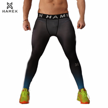 Buy 2017 new mens sport leggings running tights skinny gym fitness basketball pants mma compression running training tights trousers for $12.87 in AliExpress store
