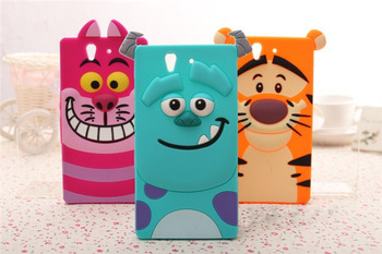 Sony Xperia Z L36H case HOT Tiger Monsters Inc. Sulley Alice Cat rubber phone cover C6602 C6603 - Julian's Department Store store