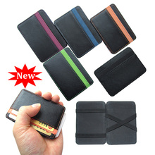 New arrival High quality PU leather magic wallets men fashion designer purses retail and wholesale Model:FGS01(China (Mainland))