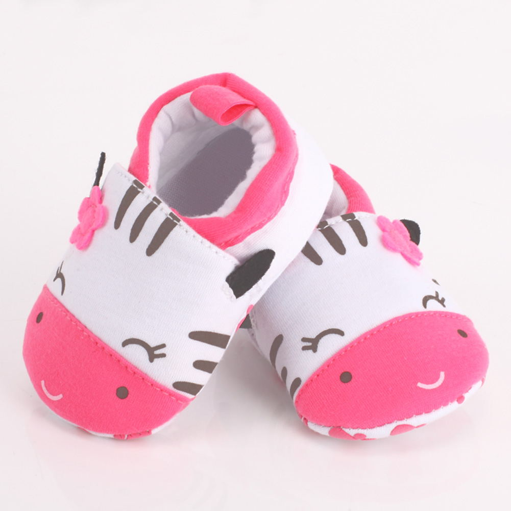 Baby Shoes Infant Toddler Crib Shoes Soft Sole Cat Print Kid Girls Boy Baby Cotton First Walkers Shoes 0-18M #LD789(China (Mainland))