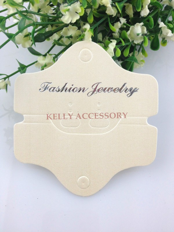 Thick Yellow Paper Jewelry Necklace Cards, 400pcs/lot Jewlery Sets Necklace/Earring Display Packaging Tags/Cards Free Shipping(China (Mainland))