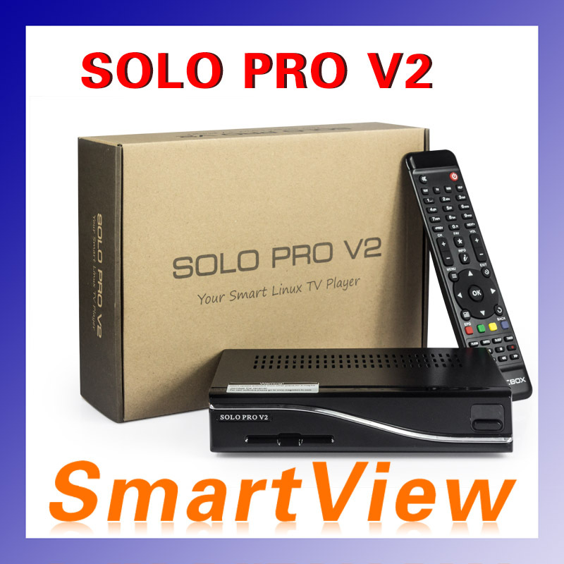 Гаджет  1pcs VU SOLO PRO V2 new DVB-S2 HD Linux Enigma2 751MHz MIPS Satellite Receiver support Blackhole Openpli Openvix None Бытовая электроника
