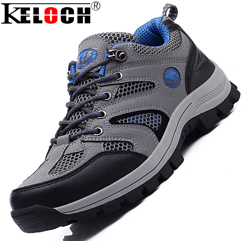 New Arrive Air Mesh Men'S Hiking Shoes Male Sports Shoes Men Sneakers Summer Climbing Boots(China (Mainland))
