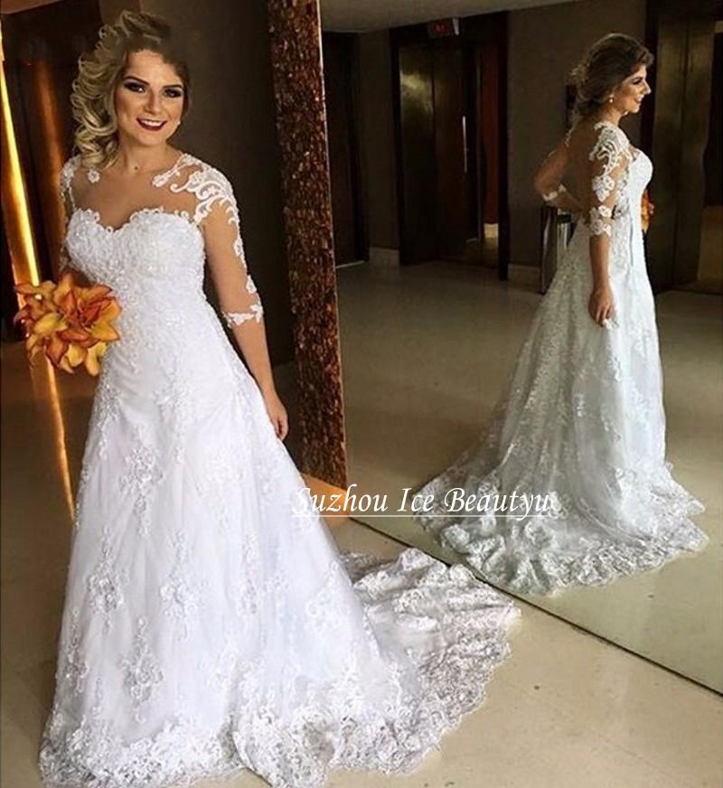 Blanc corsage promotion achetez des blanc corsage for Plus la taille robe de mariage illusion