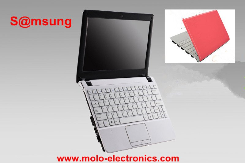 Sa*msung mini laptop computer 10.2inch small notebook netbook Intel atom N2600 Dual core W/option 4GB RAM 500GB(China (Mainland))
